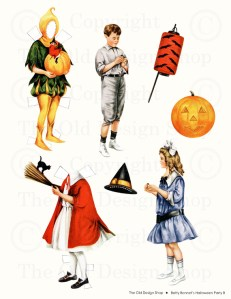 Betty Bonnet Halloween Party B