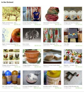 Etsy Treasury In The Orchard