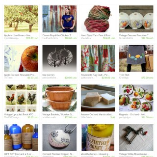 In The Orchard – Etsy Treasury