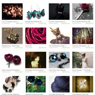 Harrison Fisher Image Featured in Etsy Treasuries