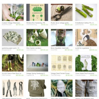 How Does Your Garden Grow – Etsy Treasury