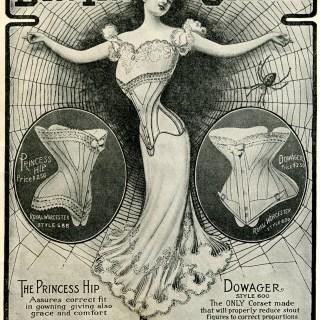 Royal Worcester Bon-Ton Corset Ad