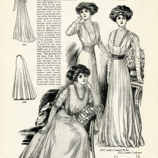 Fashion for Ladies Spring 1909