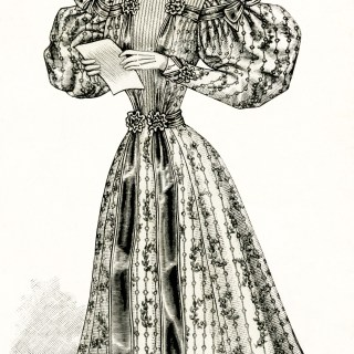 Victorian Spring Fashion for Women
