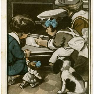 Bulte's Best Flour Vintage Postcard