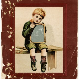 Tattered Book Cover Free Vintage Image
