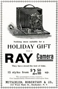 ray camera advertisement, vintage clipart camera, free vintage image, vintage advertisement camera, antique camera, free printable holiday gift, antique magazine advertising