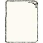 rope frame, free vintage clipart, free digital frame for graphic design