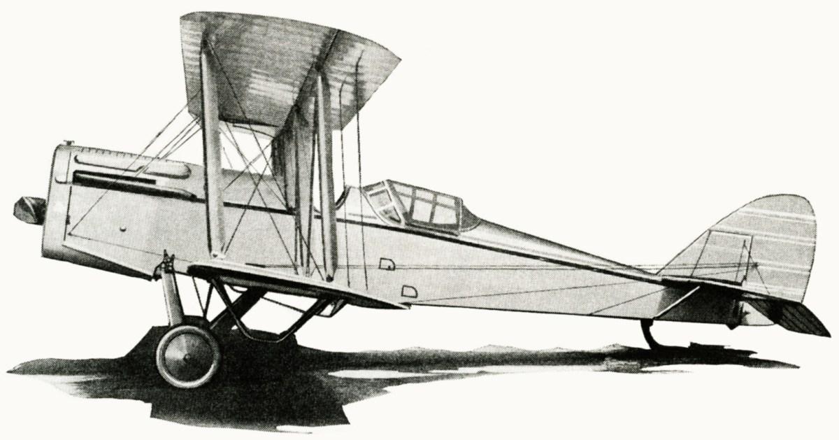 Free Vintage Airplane Illustration