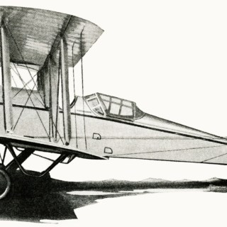 Free Vintage Airplane Illustration