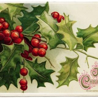 A Joyous Christmas John Winsch Postcard