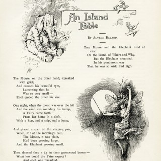 Free Vintage Images ~ An Island Fable