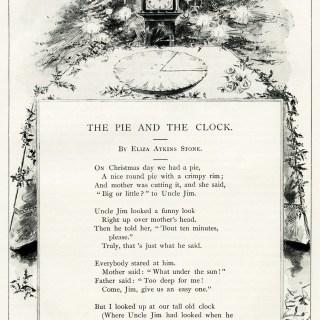Christmas Poem by Eliza Atkins Stone