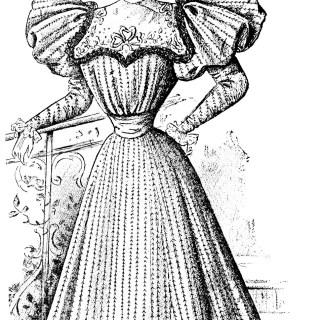 Free Vintage Image ~ French Fashion 1896