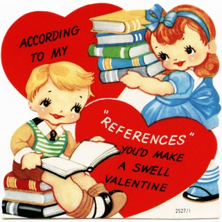 Free Vintage Image ~ A Swell Valentine Card