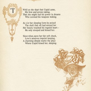 Free Vintage Image ~ Cupid's Kiss