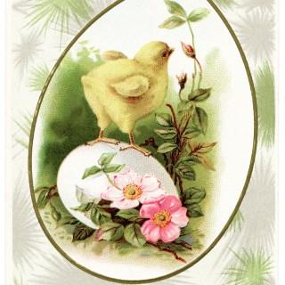 Free Vintage Image ~ Hearty Easter Greetings Postcard