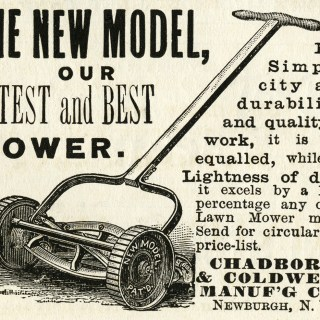 Free Vintage Image ~ Latest and Best Mower Magazine Ad