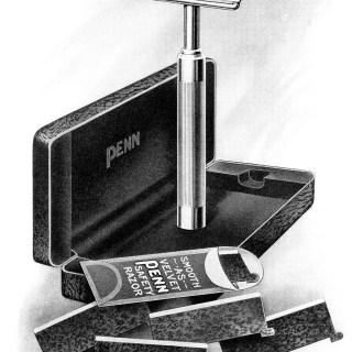 Free Vintage Image ~ PENN Safety Razor Magazine Ad