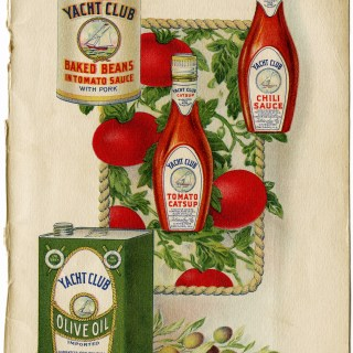Free Vintage Image ~ Yacht Club Food Products