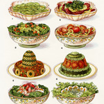 Now Available in my Etsy Shop ~ Mrs. Beeton's Salads