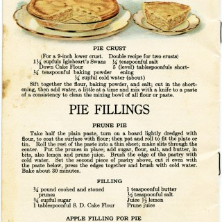 Free Vintage Image ~ Apple Pie and Pastry Recipes