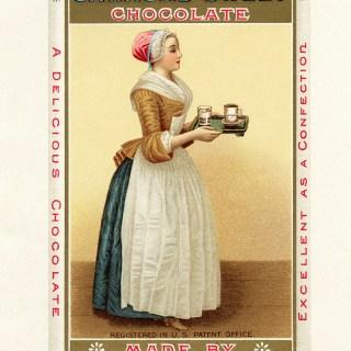 Free Vintage Images ~ La Belle Chocolatiere