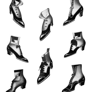Victorian Shoes ~ Free Clip Art