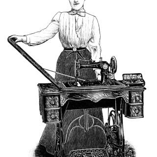 Kenwood Sewing Machine ~ Free Clip Art