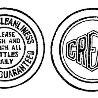 Free Vintage Image ~ Milk Bottle Caps Clip Art
