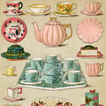 Now Available in my Etsy Shop ~ Mrs. Beeton's Breakfast and Tea China