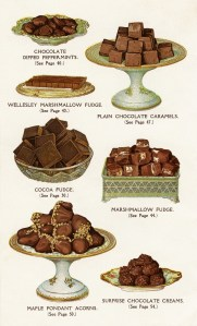 vintage chocolate clipart, chocolate dessert image, old cookbook page, printable food graphic, sweets digital page illustration