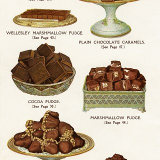 Free Vintage Image ~ Chocolate and Cocoa Recipes Book Page