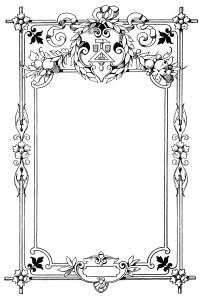 vintage frame clip art, swirly ornate illustration, black and white clipart, ornamental frame graphic, fancy frame digital image
