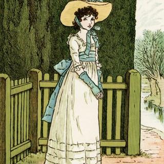 Kate Greenaway Susan Blue ~ Free Vintage Illustration