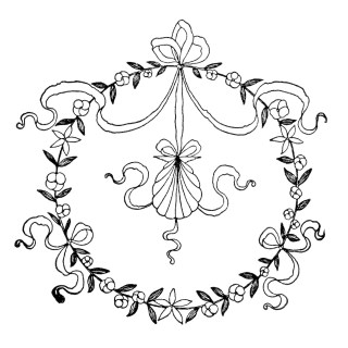 Free Clipart ~ Vintage Embroidery Designs
