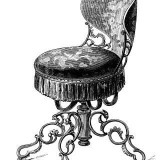 Antique Music Chairs ~ Free Clip Art Images