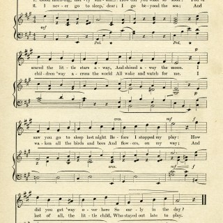 Good Morning Merry Sunshine ~ Free Vintage Sheet Music Graphic