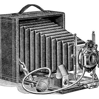 Seroco Camera ~ Free Vintage Clip Art