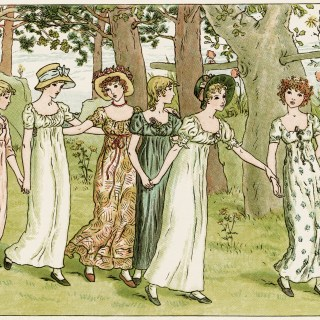 From Market by Kate Greenaway ~ Free Vintage Storybook Image