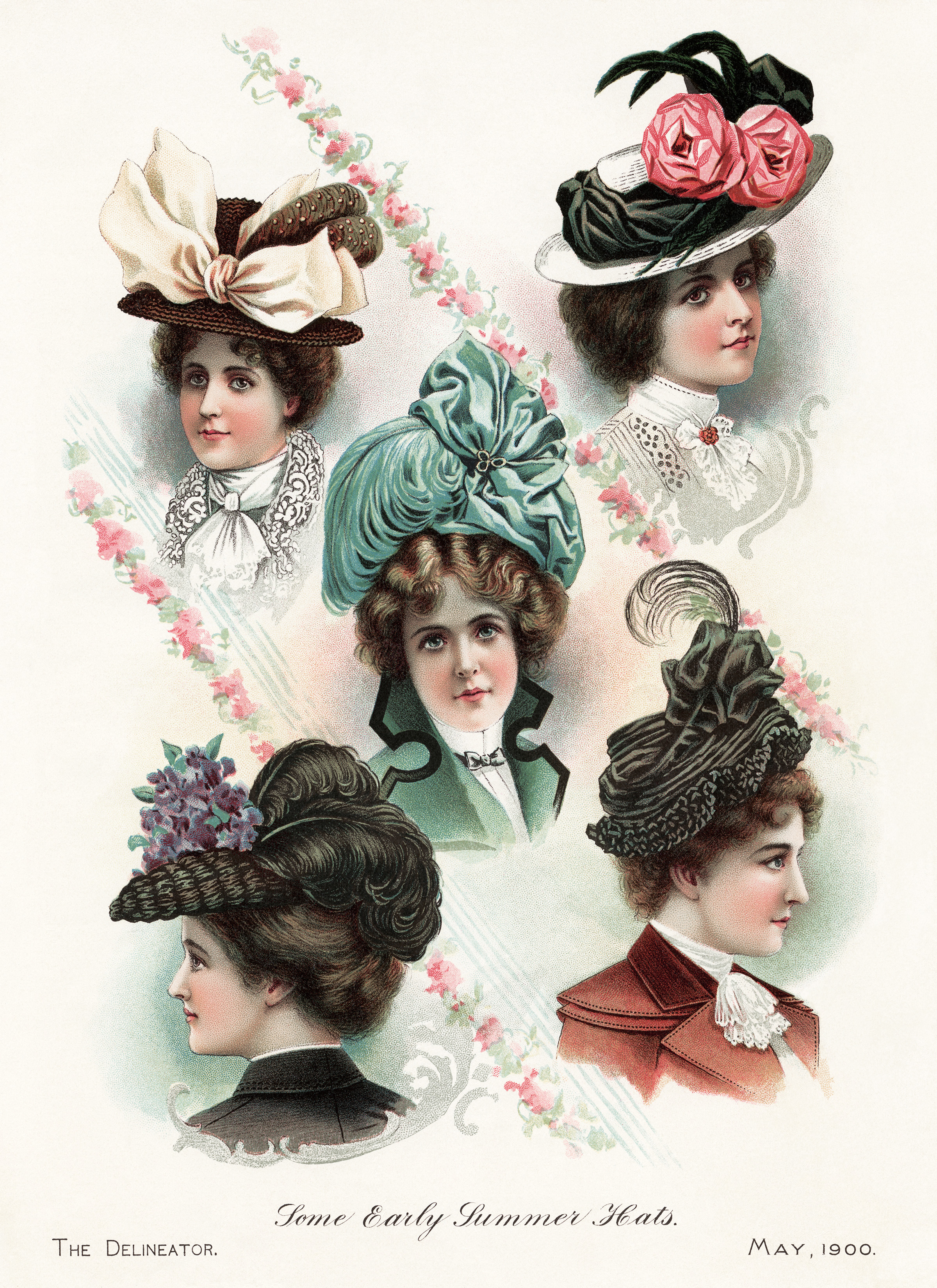 early 1900s fashion hats - photo #38