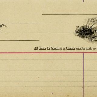 Vintage Fish Invoice – Free Digital Image