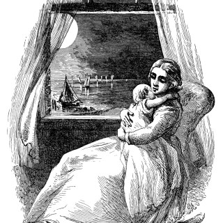 Victorian Mother and Baby Lullaby