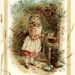 Bubbles ~ Free Vintage Storybook Illustration