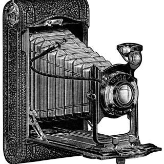 Conley Cameras ~ Free Vintage Clip Art