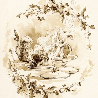 Christmas Feast ~ Free Vintage Graphics