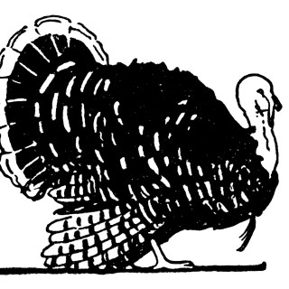Free Vintage Turkey Clip Art