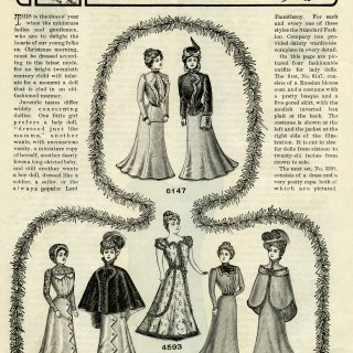 Christmas Doll's Wardrobe ~ Free Vintage Graphics