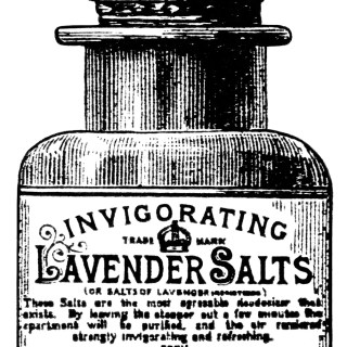 Lavender Salts ~ Free Vintage Advertising Clip Art