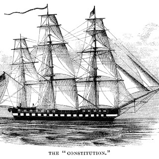 The Constitution Ship ~ Free Clip Art
